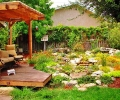 Water Gardens are an integral part of the California Frindly Garden /2
